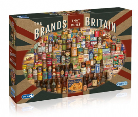 Brands that Built Britain - Jigsaw Puzzle (1000 pieces)